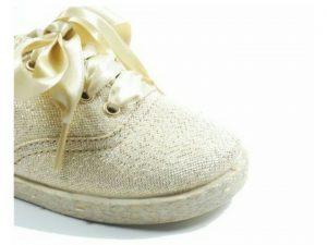 zapatillas yute oro