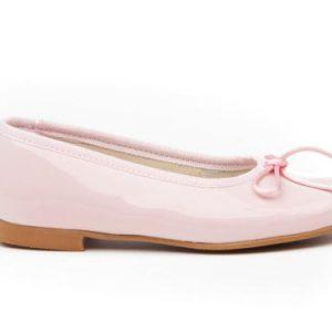 Bailarina charol rosa