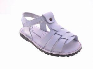 sandalia blanca niña